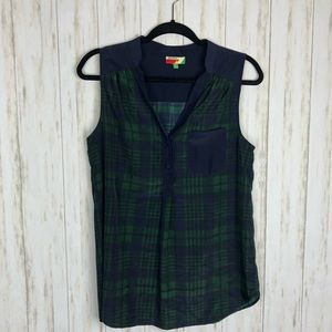 ModCloth fervour plaid tank
